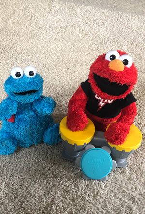 Elmo and Cookie Monster for Sale in Durham, NC