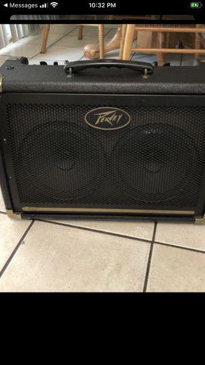 Peavey e208 30watt 2x8 acoustic guitar amp for Sale in Clovis, CA