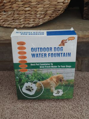 Pet Outdoor Water Fountain for Sale in Greer, SC