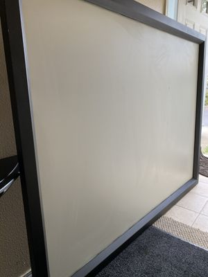 Large projection screen with projector included for Sale in Aloha, OR