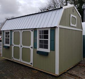 Shed Gal Graceland Portable Buildings Side Lofted Barn for Sale in Everett, WA