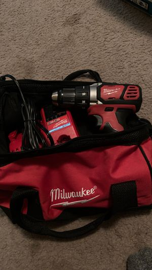 Milwaukee Drill, Battery, Charger, and Bag. for Sale in Heber, CA