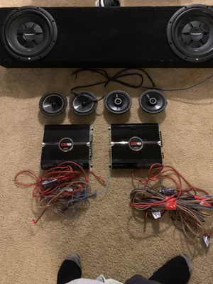 Full car stereo system for Sale in Laguna Hills, CA