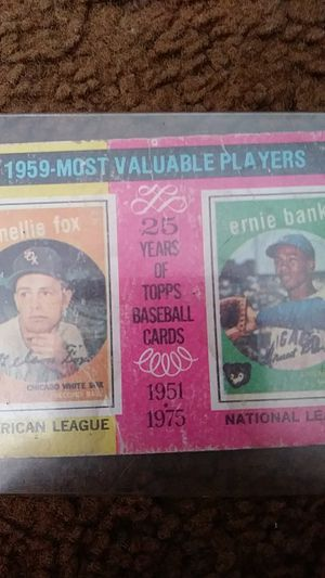 1975 baseball card for Sale in Darlington, PA