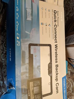 Wireless backup camera and monitor for Sale in Jonesboro, AR
