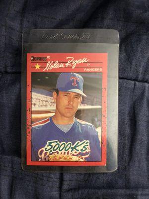 Nolan Ryan vintage donruss 5000k collectible card for Sale in Los Angeles, CA