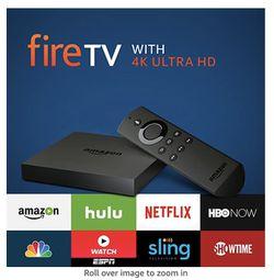 Amazon Fire TV 4K Ultra HD for Sale in Lake Oswego,  OR