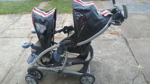 Graco brand double seated , graco stroller for Sale in St. Louis, MO