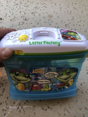 Leap Frog Letter toy for Sale in Fort McDowell, AZ