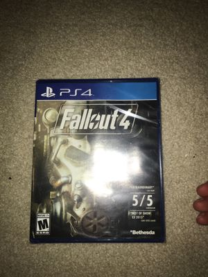 PS4 UNOPENED GAMES (FALLOUT 4,, FINAL FANTASY XV) for Sale in Alexandria, VA