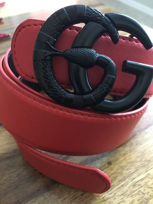 Gucci Belt Size 38-40 Red for Sale in Scottsdale, AZ