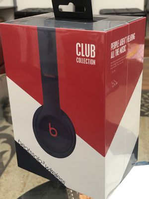 Beats Solo3 Wireless Headphones Club Collection- Brand New for Sale in Milpitas, CA