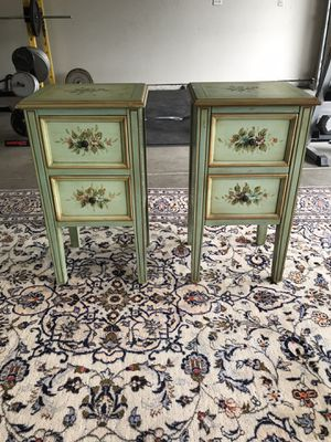 Both vintage end tables for $80 for Sale in Modesto, CA