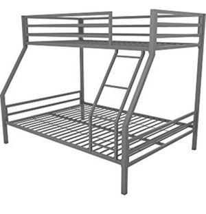 Gray metal Bunk Bed for Sale in Fontana, CA