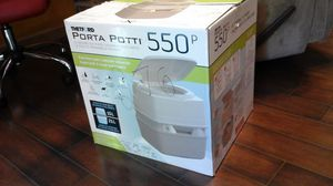 Porta potti 550p BRAND NEW in BOX..NEVER OPENED for Sale in Indianapolis, IN
