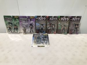 Kiss action figures for Sale in St. Petersburg, FL