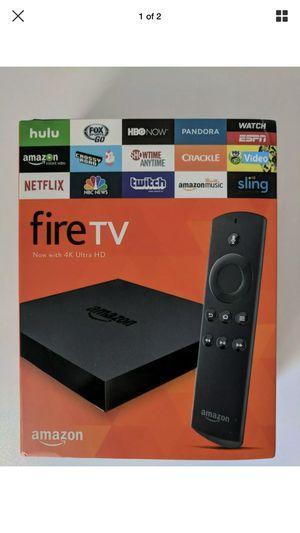 Amazon fire TV 4k ultra HD for Sale in Seattle, WA