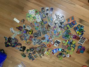 Vintage toys 1990's sticker collection for Sale in New Lenox, IL