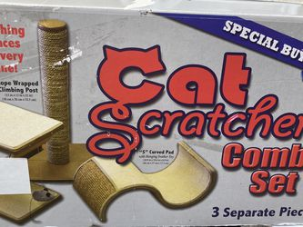 Cat Scratcher Combo Set/ Juguetes De Gato Casa for Sale in Los Angeles,  CA