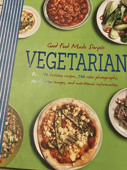 Vegetarian Cookbook $10 for Sale in Waco,  TX
