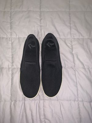 Women's size 9 black slip on shoes for Sale in Tulsa, OK