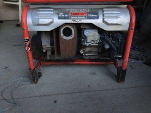 Generator husky 5000 watts for Sale in Morningside, MD