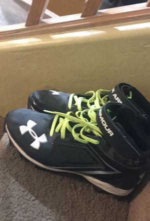 Under armor cleats for sale barely used don't smell for Sale in Laveen Village, AZ