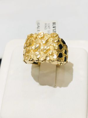 10Kt real gold men's nugget ring for sale for Sale in Indianapolis, IN