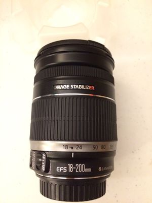 Canon EF-S 18-200mm f/3.5-5.6 IS Image Stabilizer Lens photography camera for Sale in Las Vegas, NV