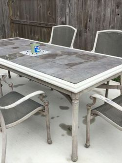 Patio/Outdoor Dining Set With Free Sprinkler Set for Sale in Spring,  TX