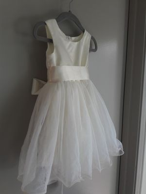 Ivory flower girl dress toddler 1-2 years old for Sale in Austin, TX