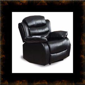 Black recliner chair for Sale in Ashburn, VA