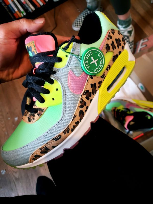 """Nike Air Max 90 LX 90s Dancefloo0r Green"""