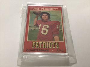 1974 Wonder Bread Jim Plunkett football card. for Sale in Visalia, CA