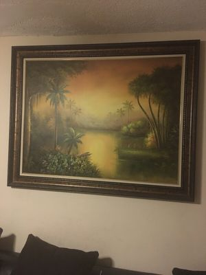 Sunset painting/canvas for Sale in Hialeah, FL