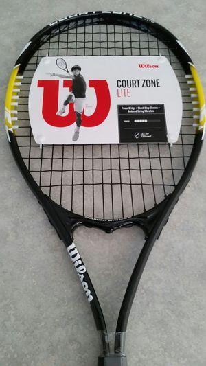 Wilson Court Zone Lite Tennis Racket - 4 3/8-inch for Sale in Gilbert, AZ