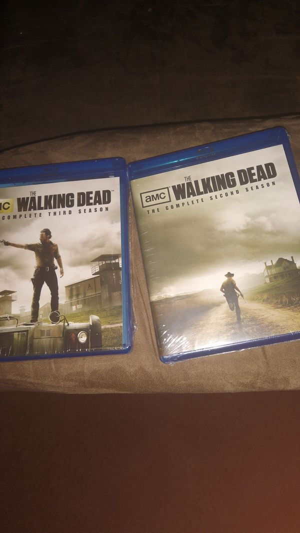 The walking dead complete 2&3rd seasons