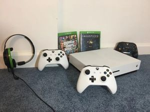 Xbox One S with games and accessories for Sale in Portland, OR
