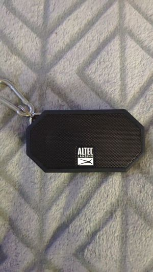AltecLansing- Bluetooth speaker for Sale in MD CITY, MD