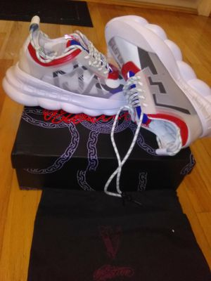VERSACE CHAIN REACTION SNEAKERS for Sale in Colesville, MD