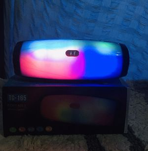 BLUETOOTH SPEAKERS WITH LED for Sale in The Bronx, NY