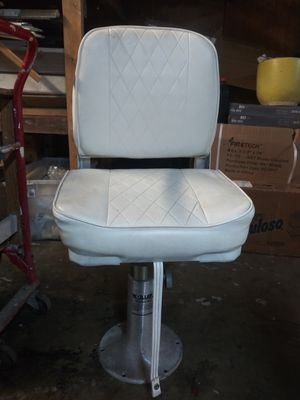 Moeller captain boat seat and base. for Sale in San Leandro, CA