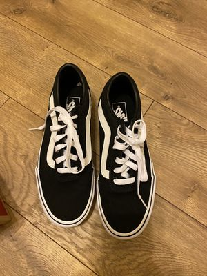 Black vans size 8 for Sale in Scottsdale, AZ