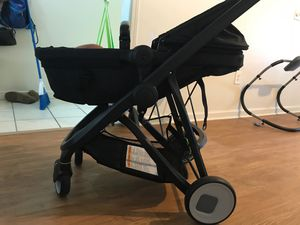 New Riva stroller and car seat with base for Sale in Jacksonville, NC