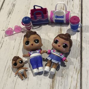 LOL Surprise Doll BRO CHEER BOY BOI, BABY, SIS for Sale in Amherst, OH