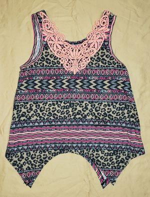 Girls size 7 / 8 Clothes Pink Cheetah Shirt (#263) for Sale in Mesa, AZ
