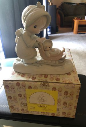 1987 precious moments figurine January mint with box for Sale in COCKYSVIL, MD
