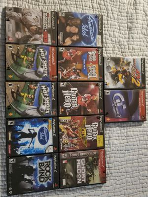Playstation 2- PS2 Video Games sony for Sale in Bethesda, MD