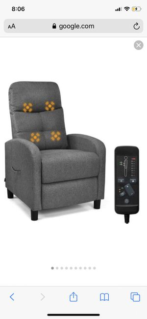 Gintax massage recliner for Sale in Baltimore, MD