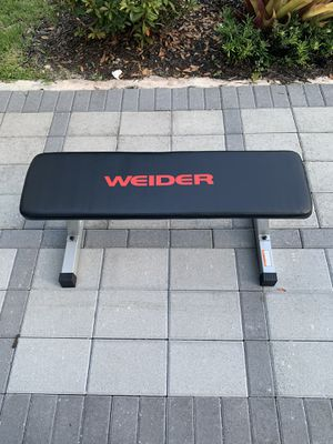 Brand new weider flat bench for Sale in Miami, FL